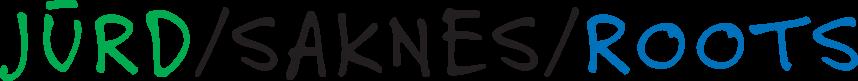 Jurd Saknes Roots logo